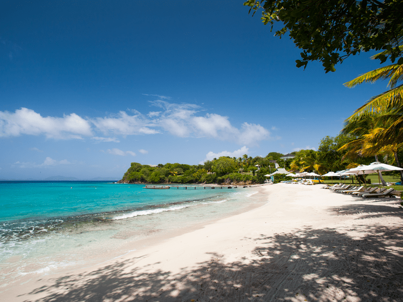 Mustique Villas - Beach