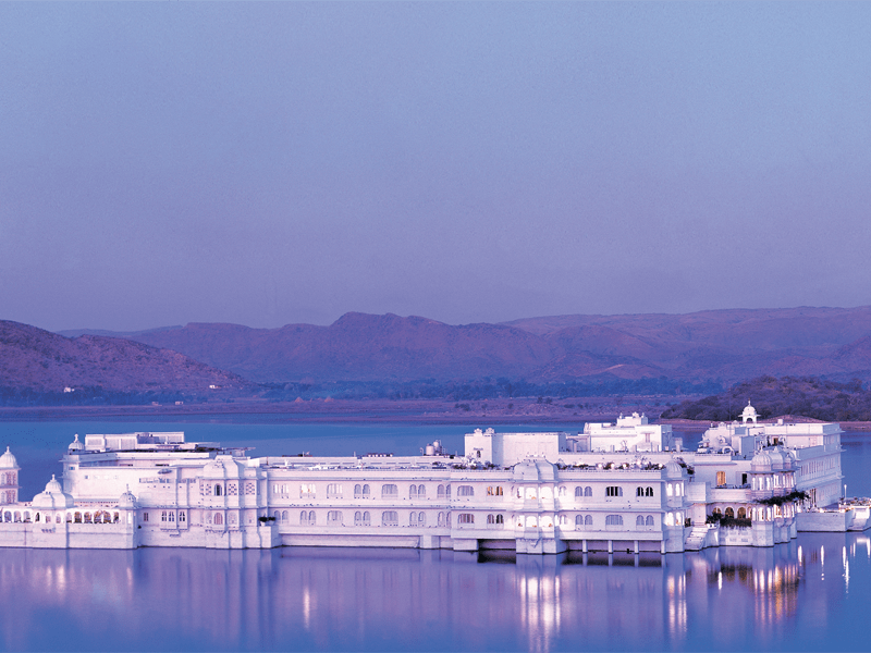 Maldives And Rajasthan - Taj Lake Palace - Udaipur